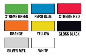 Colors available for RV Dog House
