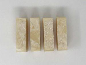 4 Bars Calendula Soaps - Top View