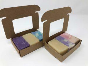 Handmade Soap Samples in Box