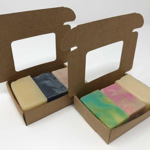 Trial Sample Soaps in Box