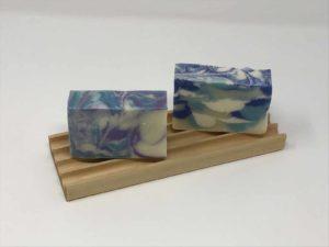 Double soap dish handmade