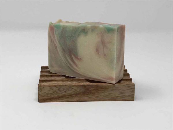 Handcrafted aqueduct soap dish