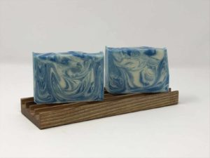 Wood handmade long soap dish