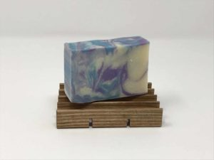 Soap holder for tall soaps