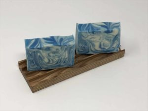 Handmade double soap dish