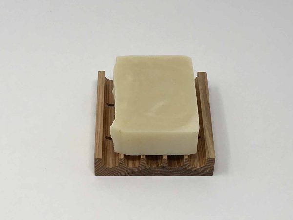 Square soap dish holder