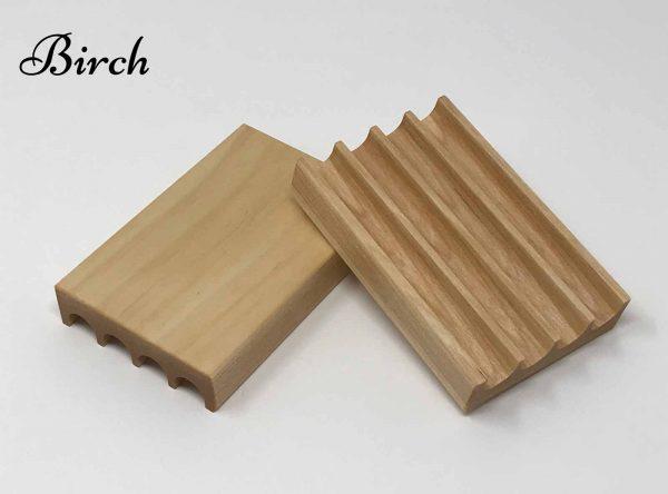 Birch handmade soap dish