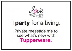 tupperware consultant